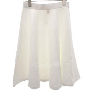 【10月8日値下】Ron Herman フレアスカート ホワイト サイズ:XS (フレスポ東大阪店) kindal