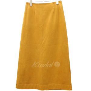 【10月8日値下】Ron Herman スリットスカート 17SS マスタード サイズ:XS (フレスポ東大阪店) kindal