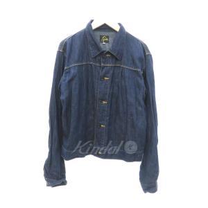 【SALE】 【30%OFF】 Needles Denim GT Jacket ギャザーデニムジャケット サイズ:2 (フレスポ東大阪店)|kindal