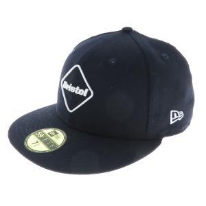 【SALE】 F.C.R.B.× NEWERA EMBLEM 59 FIFTY CAP エンブレムBBキャップ サイズ:7 1/2 (フレスポ東大阪店) kindal