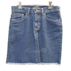 Ron Herman TEN コラボ カットオフデニムスカート ブルー サイズ:XS (三宮店) 190410 kindal