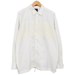 BRU NA BOINNE フロントジャカードシャツジャケット アイボリー サイズ:1 (新潟亀田店) 190820|kindal