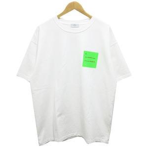 STUDIO SEVEN 18SS Square Bar Big Tシャツ ホワイト サイズ:L (阿佐ヶ谷店) 190820|kindal