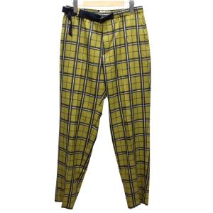 WELLDER Belted Trousers 19SS WM19SPT10 トラウザー パンツ 【...