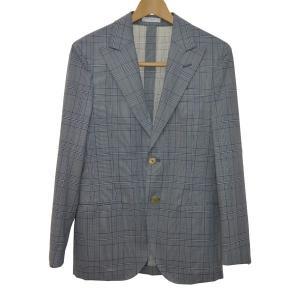 BOGLIOLI チェック柄セットアップスーツ グレー サイズ:42 (なんば店) 190610 kindal