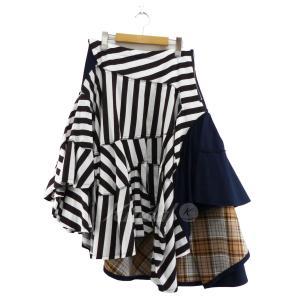 【SALE】 【20%OFF】 tricot COMME des GAR 2019SS クレイジーパターンスカート サイズ:M (なんば店)|kindal