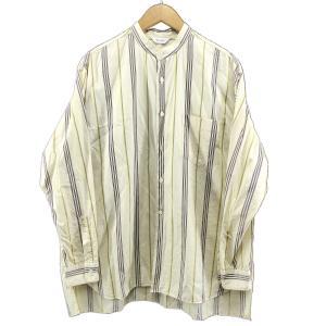 WELLDER 2019SS Band Collar Shirt 【色:ベージュ】 【サイズ:4】 ...