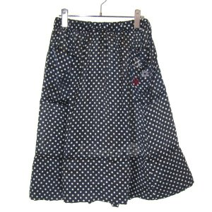 【SALE】 【20%OFF】 COMME des GARCONS CO JUPE dy JACKIE 裾切替フラワーデザインドットスカート サイズ:XS (三宮店)|kindal