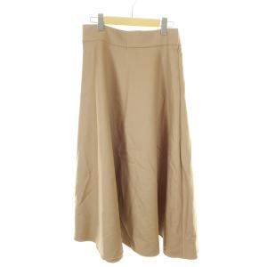 BALLSEY シルク混スカート キャメル サイズ:40 (和歌山店) 190821|kindal