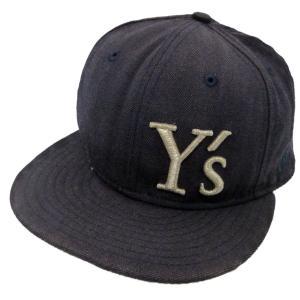 【SALE】 Y'S × NEW ERA 17SS 刺繍ロゴキャップ サイズ:7 3/8 (渋谷神南店) kindal