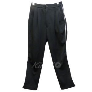 BED J.W FORD 2タックトラックパンツ ブラック サイズ:0 (新宿店) 171112|kindal