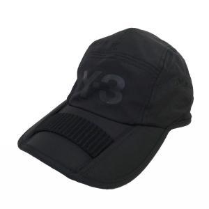 Y-3 17AW「FOLDABLE CAP」ロゴナイロンキャップ ブラック サイズ:58cm (新宿店) 190922|kindal