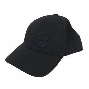Y-3 19SS 「LOGO CAP」 ロゴキャップ ブラック サイズ:58cm (新宿店) 191008|kindal