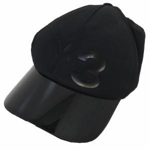 Y-3 17SS「VISOR CAP」ロゴバイザーキャップ ブラック サイズ:OSFA (新宿店) 191013|kindal