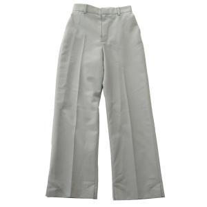 IRENE 2019SS Reflectortape Trousers タック トラウザーパンツ ライトグレー サイズ:34 (元町店) 190614|kindal
