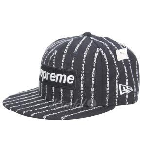 【SALE】 Supreme×NEW ERA 19SS Text Stripe New Era テキストストライプキャップ サイズ:7 1/4 (吉祥寺店) kindal