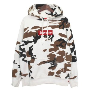 SUPREME 16AW Box Logo Hooded Sweatshirt ボックスロゴカモフラ...