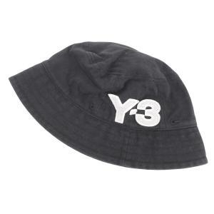 Y-3 コットンロゴバケットハット ブラック サイズ:M (吉祥寺店) 190721|kindal
