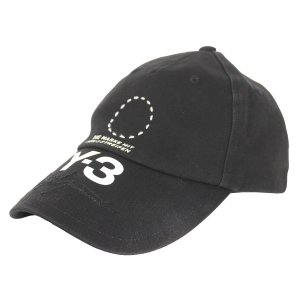 Y-3 18AW STREET CAP サークルロゴストリートキャップ ブラック サイズ:- (吉祥寺店) 191014|kindal