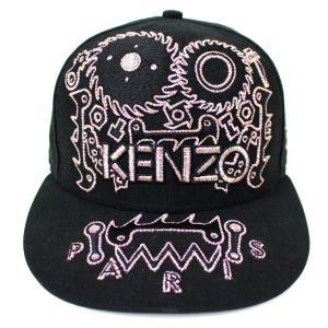 【SALE】 KENZO × NEW ERA 刺繍 キャップ 帽子 サイズ:7(55.8cm) (高槻店) kindal