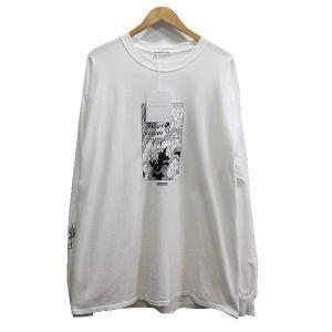 FLAGSTUFF 19AW saiyans L/S Tee ロングスリーブTシャツ ホワイト サイズ:XL (学芸大学店) 190820|kindal