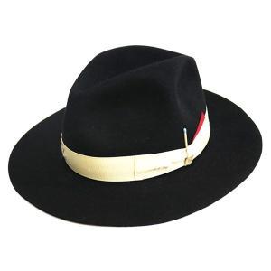 Borsalino by Nick Fouquet コラボビーバーフェルトハット ブラック サイズ:57 (学芸大学店) 190821|kindal