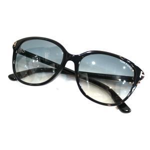 TOM FORD TF329 Karmen カルメン  グラデーションサングラス ブラック グレーグラデ(レンズ) サイズ:57□16 140 (学芸|kindal