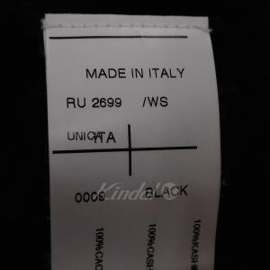 Rick Owens 10AW カシミヤニットフェイスマスク ブラック (池袋店) 190820|kindal|05