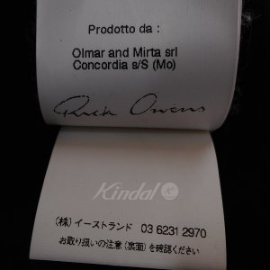 Rick Owens 10AW カシミヤニットフェイスマスク ブラック (池袋店) 190820|kindal|06