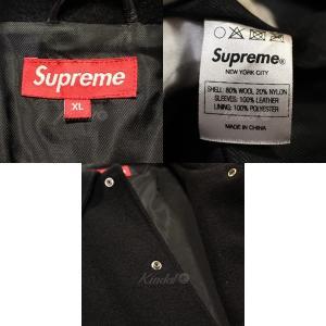【BARGAIN】 SUPREME 2011AW Miners Jacket マイナーズジャケット スタジャン レザー切替 サイズ:XL (青山店) kindal 05