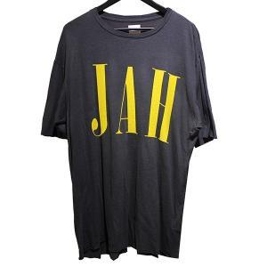 ALCHEMIST 2019SS JAH TEE ジャー Tシャツ USED加工Tシャツ チャコールグレー サイズ:M (青山店) 190820|kindal