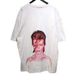 IH NOM UH NIT 2019SS BOWIE FLASH T-SHIRT ボウイ フラッシュ Tシャツ ホワイト サイズ:M (青山店) 19|kindal