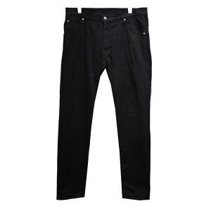 1 piu 1 uguale 3 ストレッチデニムパンツ ブラック サイズ:4 (青山店) 190824 kindal