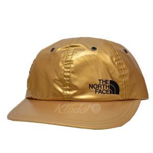 Supreme×THE NORTH FACE METALLIC 6-PANEL HAT NN41805I メタリック キャップ ゴールド サイズ:Fr kindal