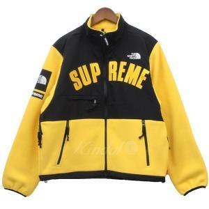 Supreme × THE NORTH FACE 2019SS ARC DENALI JACKET デナリジャケット フリースブルゾン イエロー サイ kindal