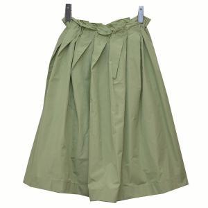 JIL SANDER NAVY フレアスカート スカート ライトグリーン サイズ:32 (二子玉川店) 190814|kindal