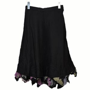 tricot COMME des GARCONS 装飾スカート スカート ブラック サイズ:S (二子玉川店) 190817|kindal