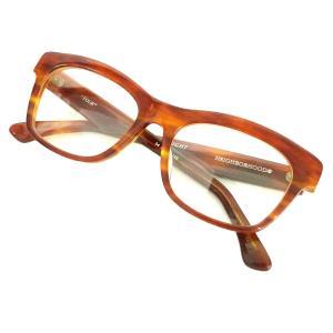 NEIGHBOR HOOD 12SS「FOUR/A-SHADE」眼鏡 ブラウン×レッドブラウン (原宿店) 191107|kindal