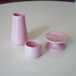 ペット用仏具 かわいいサイズのペット仏具(3点セット)2色から選べます