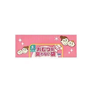 クリロン化成 BOS おむつが臭わない袋ベビー用 Sサイズ(20*30cm) 箱型200枚入(試供品...
