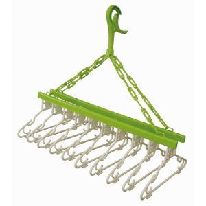 ●服からタオル、小物まで干せるフックがたくさん付いて便利です。 ●収納時は折りたたんでコンパクトに収...