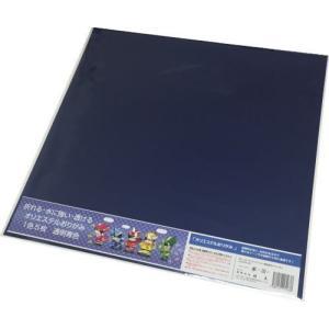 東洋紡 オリエステルおりがみ(透明青色) 水に濡れても平気な折り紙 大判(43*43cm) 5枚入|king-depart