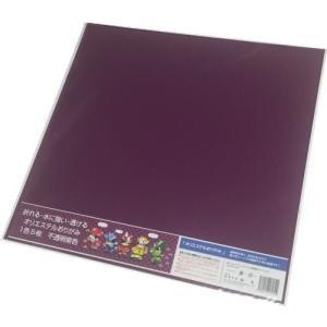 東洋紡 オリエステルおりがみ(紫色) 水に濡れても平気な折り紙 大判(43*43cm) 5枚入|king-depart