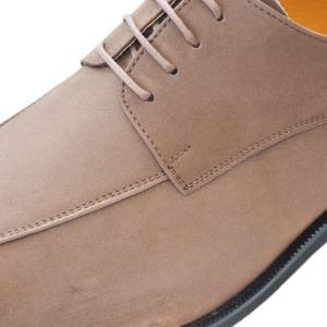 k101nu-bro 牛革ヌバックブラウン 本革ビジネスシューズ紐タイプ 完全国産 北嶋製靴工業所 キングサイズシューズ 送料無料!! king-shoes 04