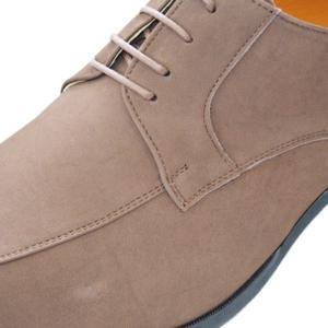 k7000nu-bro 牛革ヌバックブラウン 本革ビジネスシューズ紐タイプ 完全国産 北嶋製靴工業所 キングサイズシューズ 送料無料!!|king-shoes|02