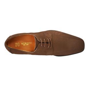 k7000nu-bro 牛革ヌバックブラウン 本革ビジネスシューズ紐タイプ 完全国産 北嶋製靴工業所 キングサイズシューズ 送料無料!!|king-shoes|04