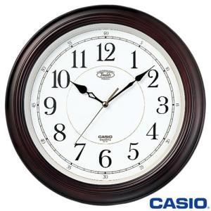 CASIO カシオ 壁掛け時計 121 (濃茶木)|king