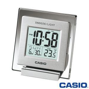 カシオ 置き時計 薄型デジタル 温度計付き 735|king