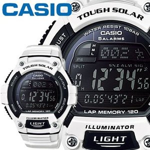 カシオ スタンダード ウオッチ S220C ホワイト 樹脂バンド タフソーラー 10気圧防水仕様 CASIO STANDARD WATCH TOUGH|king