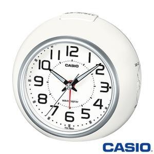 カシオ ウェーブセプター 電波置き時計 760J (ホワイト/シルバー) 秒針停止機能付き 2015年モデル|king